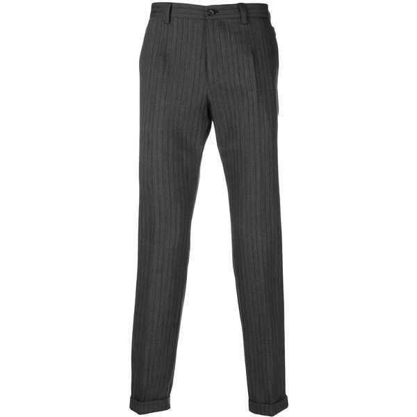 striped tailored trousers - Grey Dolce & Gabbana Cheap Cheap Online VC6AhWA2xM