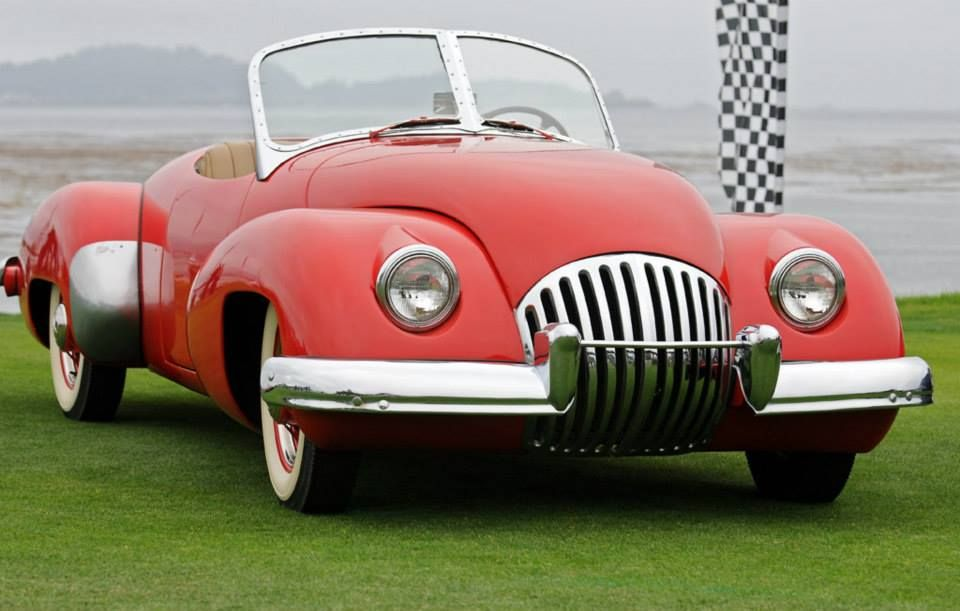 The 1947 Kurtis Omohundro Comet Sports Roadster. This hand crafted ...