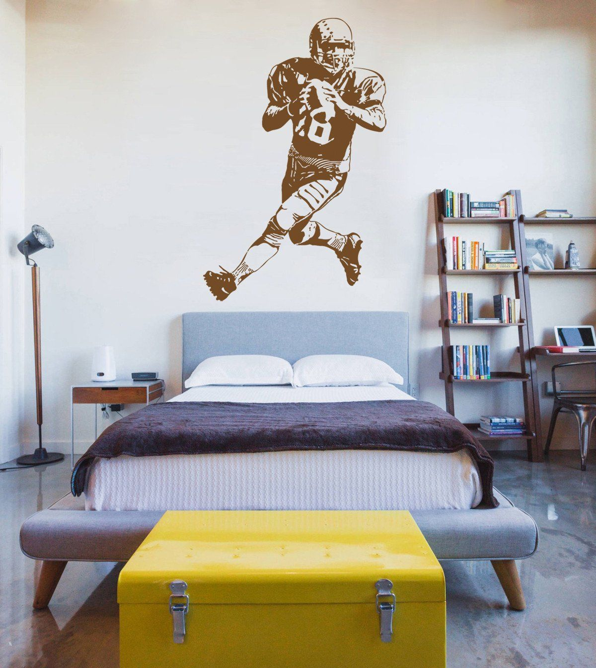 Sports decals sports stickers name decals sports wall sports wall ik wall decal sticker rugby football sports living childrens sporting wall decals amipublicfo Images
