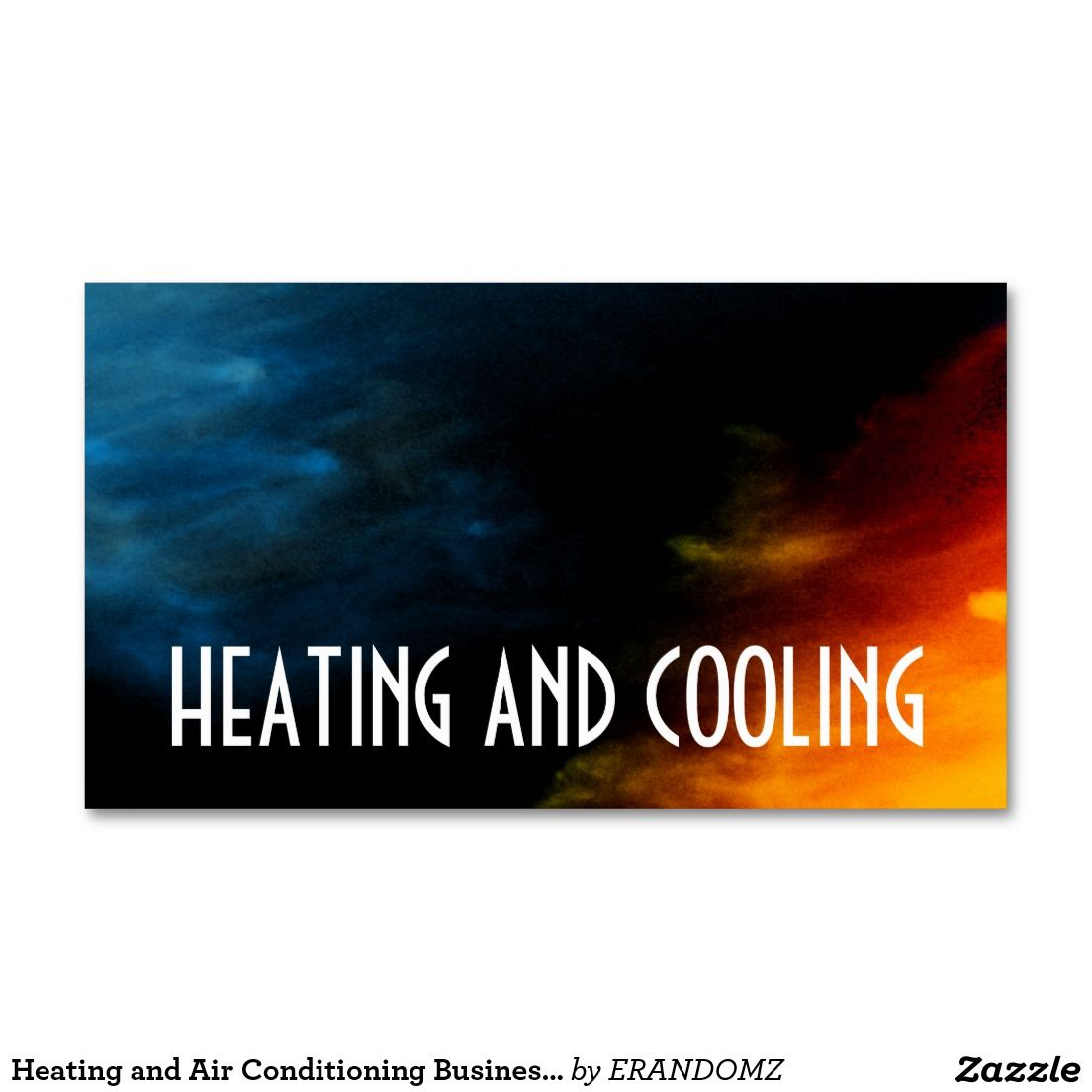 Heating and air conditioning business card heating and heating and air conditioning business card colourmoves