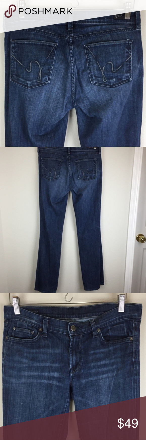 59b2bff7cbb COH Amber Stretch High Rise Bootcut Jeans Size 29 CITIZENS OF HUMANITY  Amber Stretch High Rise