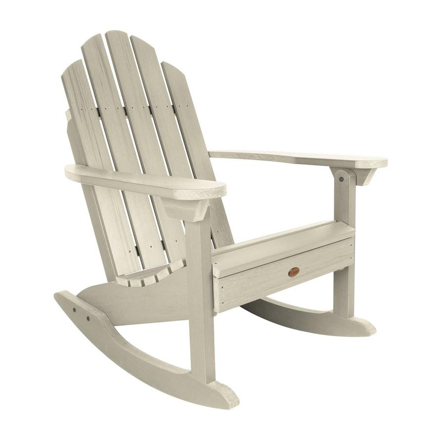 Outdoor Highwood Classic Westport Adirondack Rocking Chair Outdoor Rocking Chairs Adirondack Rocking Chair Rocking Chair