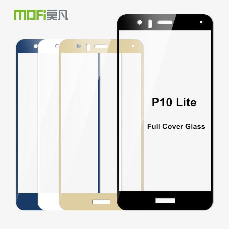 Huawei P10 Lite Glass Tempered 5.2 inch MOFi Full Cover Protective ...