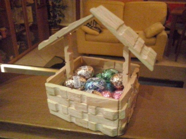 Cestino Di Pasqua Mollette Legno Mollette Di Legno Pinterest