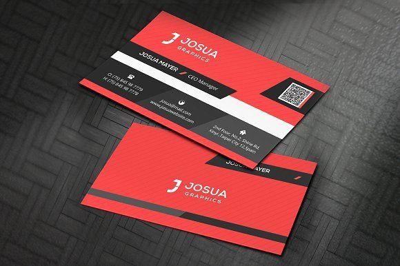 Corporate Business Card Corporate Business Card Business Card Template Design Minimalist Business Cards