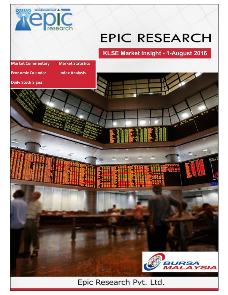 Epic research malaysia daily klse report for 1st august