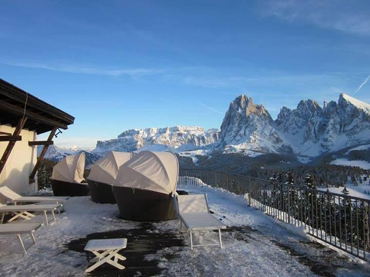 terrazza a #Ortisei sulle #Dolomiti della #ValGarena (#AltoAdige ...