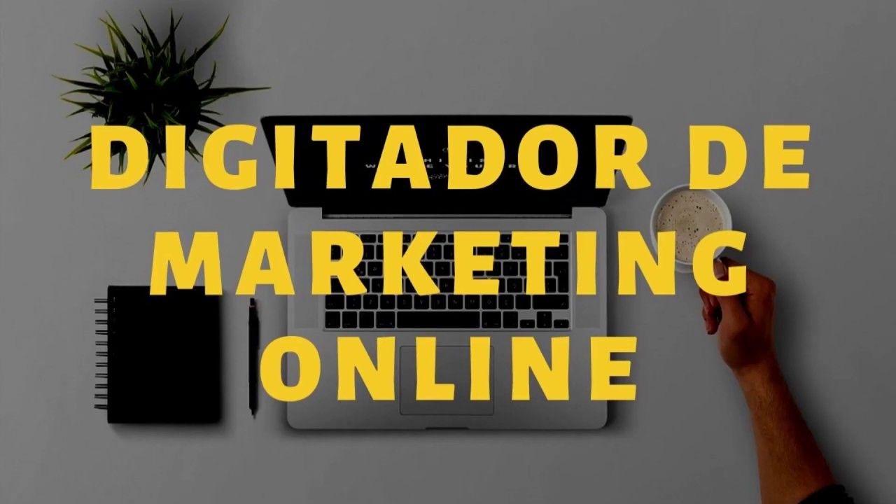Digitador De Marketing Online Home Office -  Apren...