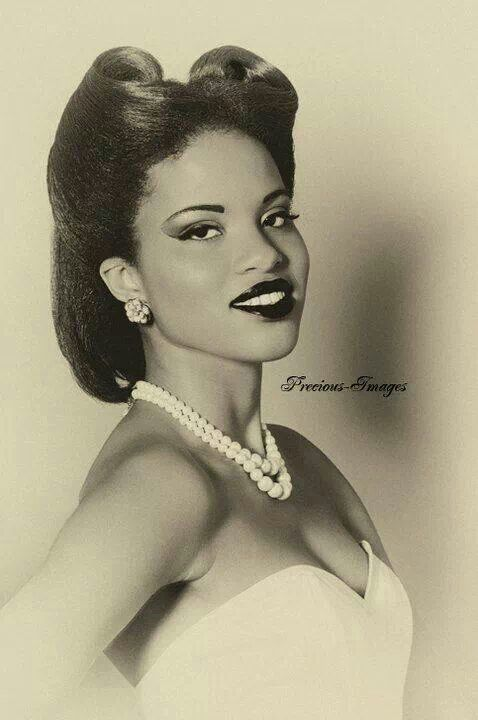 Black Hairstyles C19301940s On Pinterest 1930s African
