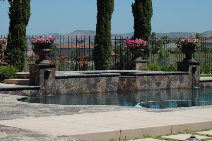 Water Features, Fountains, Ponds & Pools Landscape Design & Construction Gallery by AAA Landscape Specialists.