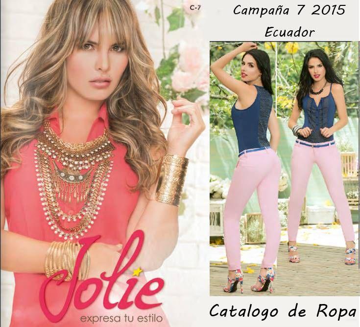 Catalogo De Ropa Jolie Campana 7 2015 Ecuador Catalogos De Ropa Ropa Ropa De Moda