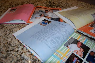 A Mother's Mark ~ Letters & Memory Books - Or so she says... This is a great idea for anyone who doesn't like crafts.