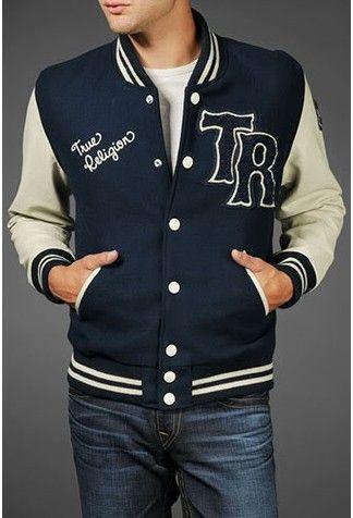Royablue High School Varsity Jacket Letter TR | Fashion Varsity ...