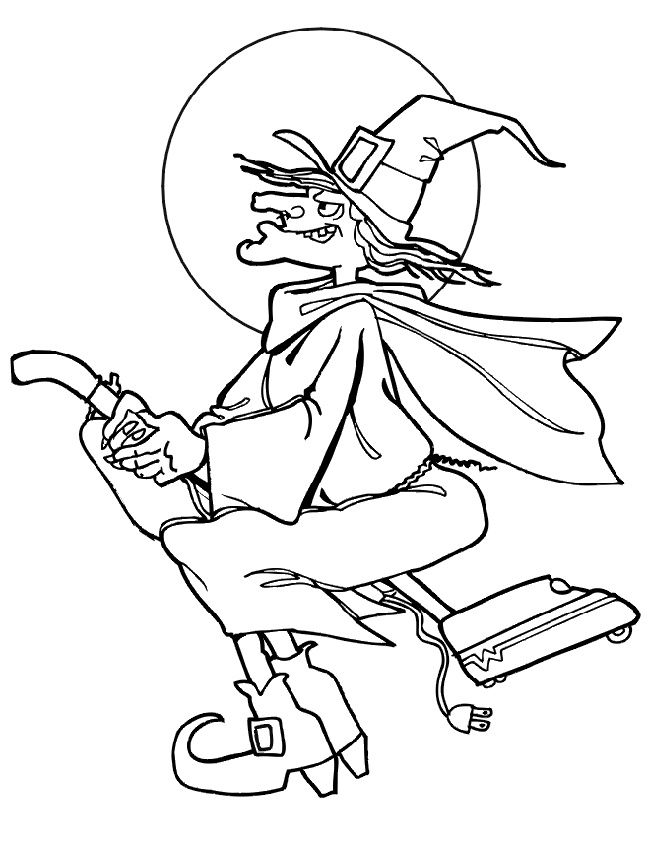 Dibujos para Colorear Halloween 4 | Dibujos para colorear para niños ...