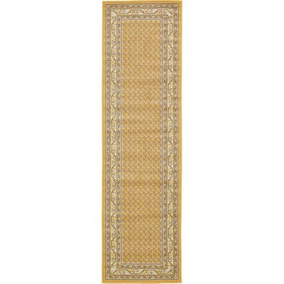 Found it at Wayfair - Tribeca Yellow Area Rug