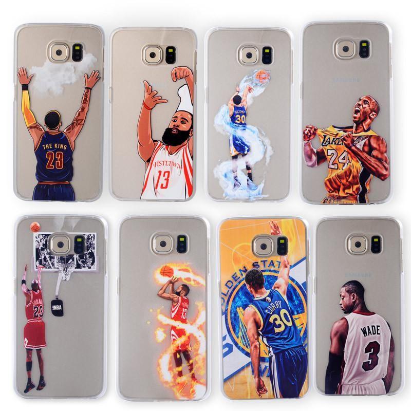 save off 45d1c 499de Basketball Phone Case for Samsung Galaxy S5 S6 S7 edge Cases Jordan ...