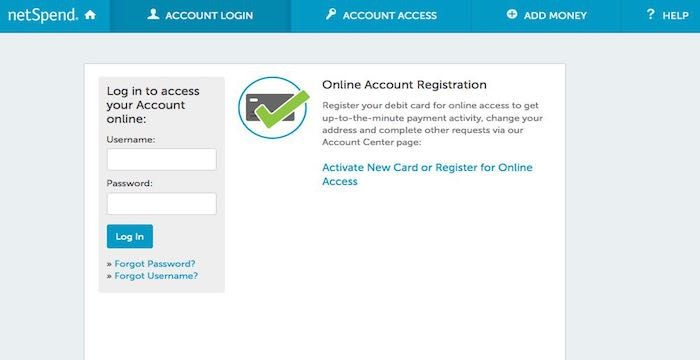NetSpend Login Debit, Debit card, Login