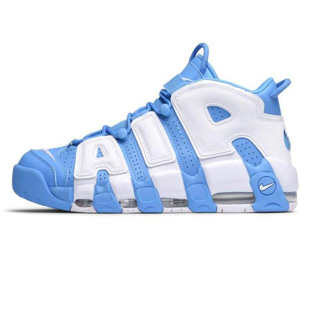 f4bb1fb94fd0bb Authentic Nike Air-More Uptempo  Men s Breathable Basketball Shoes-On Sale!