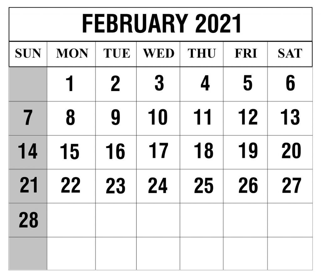 Free Printable 2021 February March Calendar In 2020 Calendar Word Calendar Printables Calendar Template
