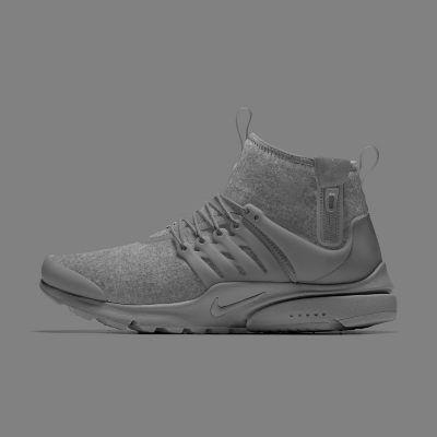Nike Air Presto Mid Utility Premium Pendleton iD Men's Shoe