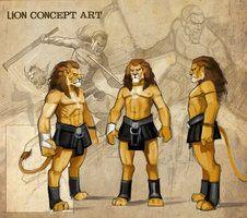 lion concept sketch by *nightrhino on deviantART