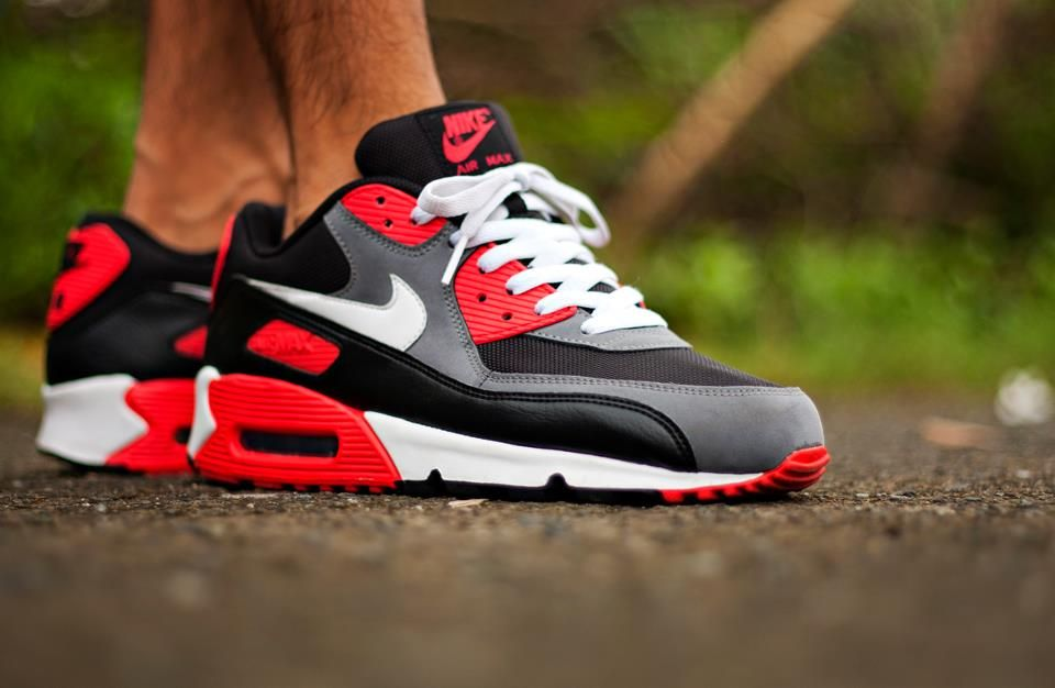 Nike Air Max 90 Black CrocInfrared Preview | Nice Kicks