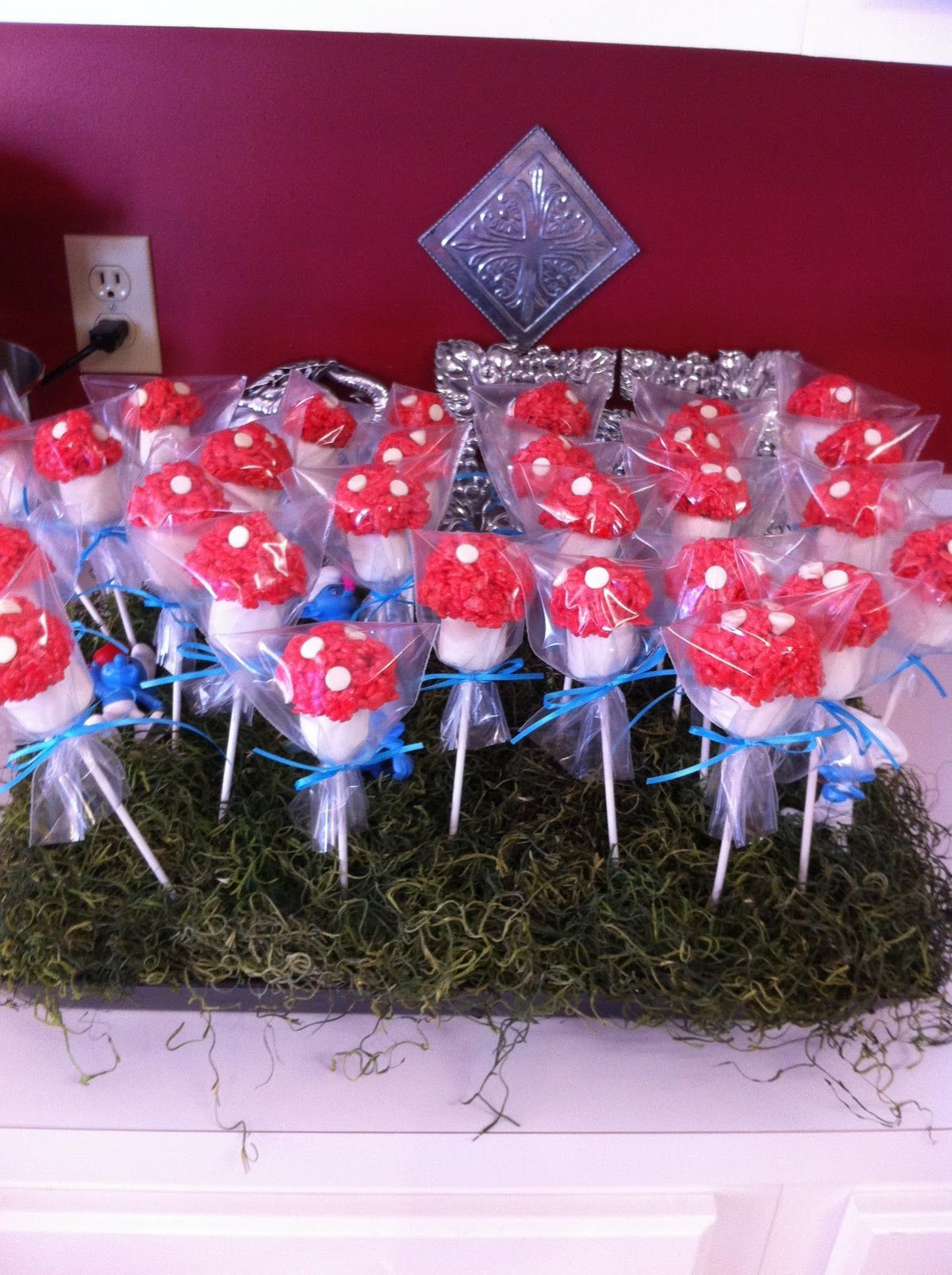 Southern Girl Creations Smurf Day Birthday Party