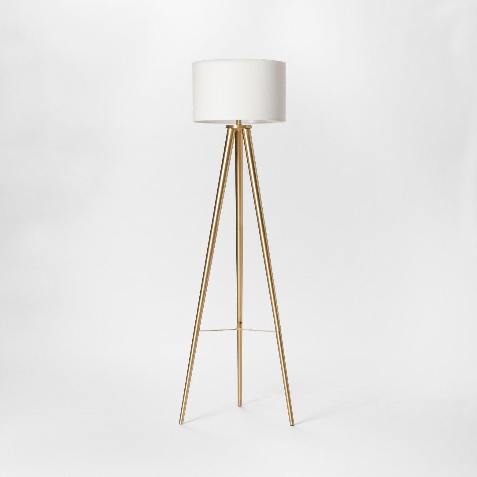 Delavan Metal Tripod Floor Lamp Project 62 Tripod