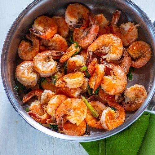 best ever jamaican pepper shrimp recipe  recipe