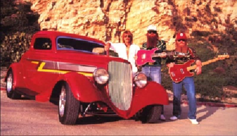 Zz Top Afterburner Roadster Zz Top Zz Top Car Hot Rods