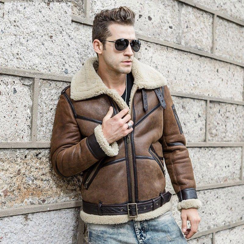 Pin by Sheepskin boy on Sheepskin coats   Sheepskin jacket