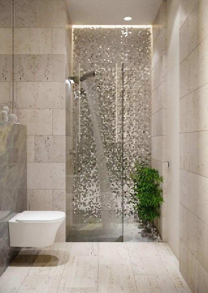1001 id es pour une d co salle de bain zen salle de - Idee de salle de bain avec douche ...