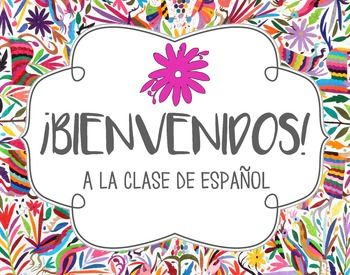 Image result for welcome to spanish class