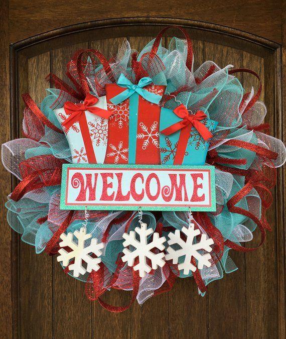 Christmas Wreath, Christmas Decoration, Christmas Decor, Outdoor