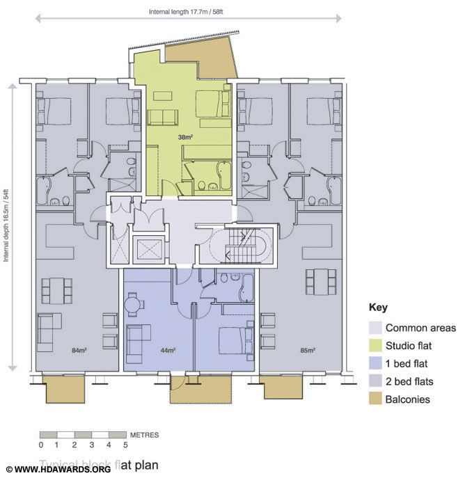 Arundel Square / The Housing Design Awards Micro units Pinterest