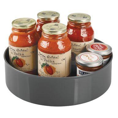 Plastic Kitchen Pantry Lazy Susan Turntable / Storage #kitchenpantrycabinets