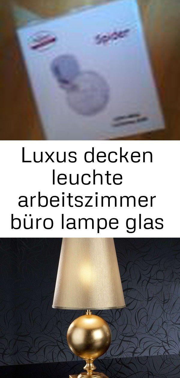 Luxus Decken Leuchte Arbeitszimmer Buro Lampe Glas Kugel Strahler Living Xxl Beleuchtung 5 Novelty Lamp Lamp Decor