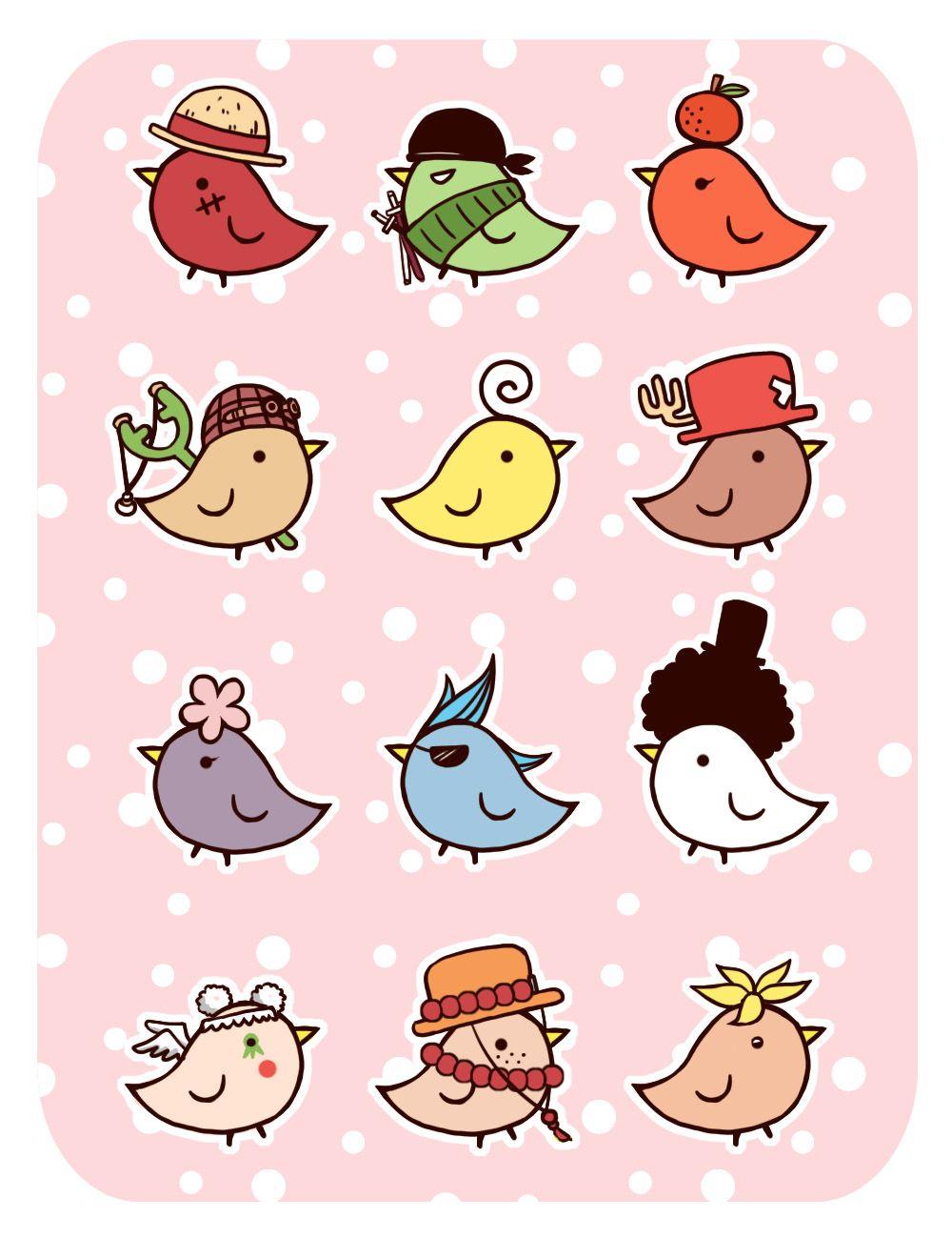 cute! one piece anime Cute doodles