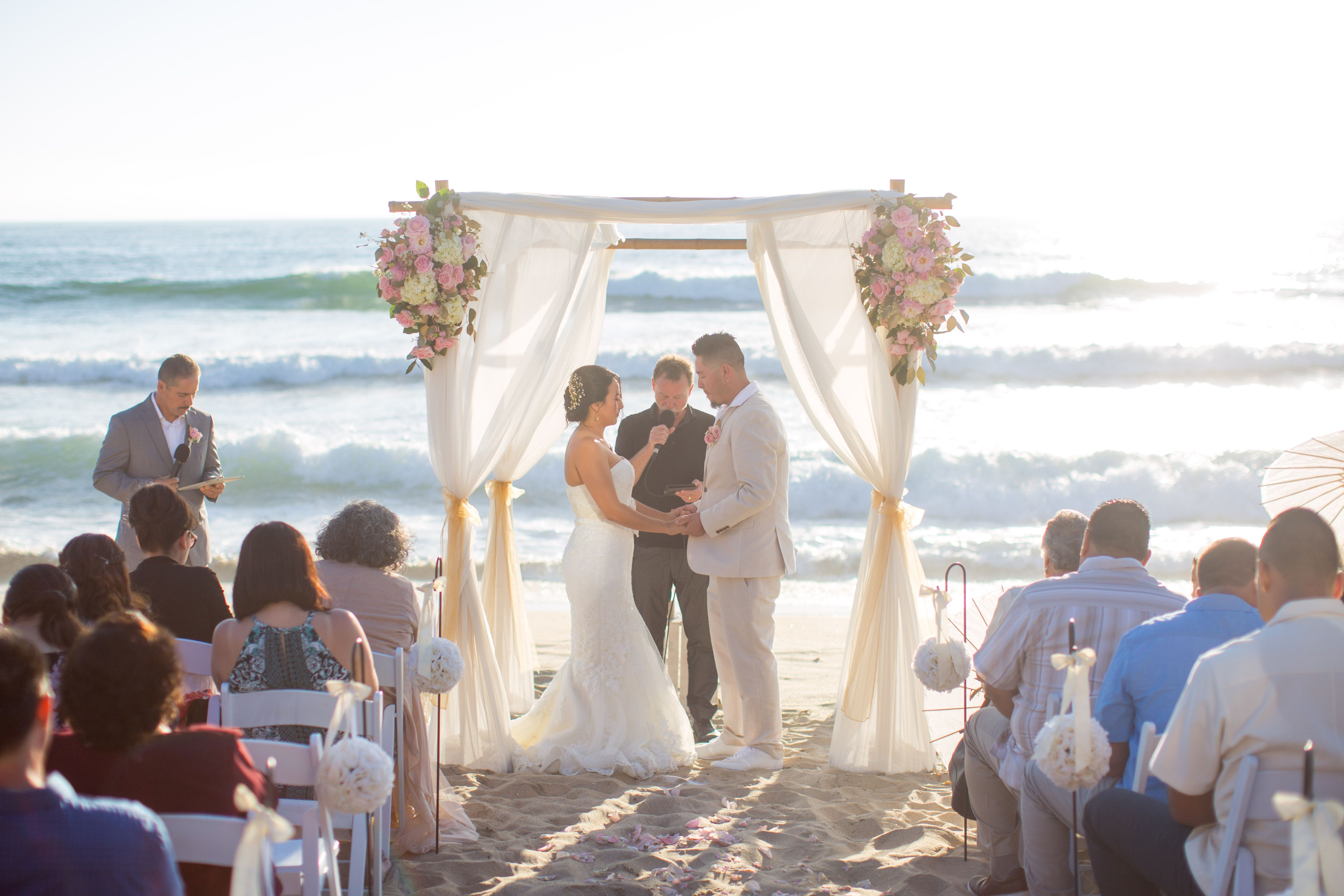 Dream Beach Wedding Offers All Encomping Ceremony Packages That Allow S To Have Their San Go Without Any Of The