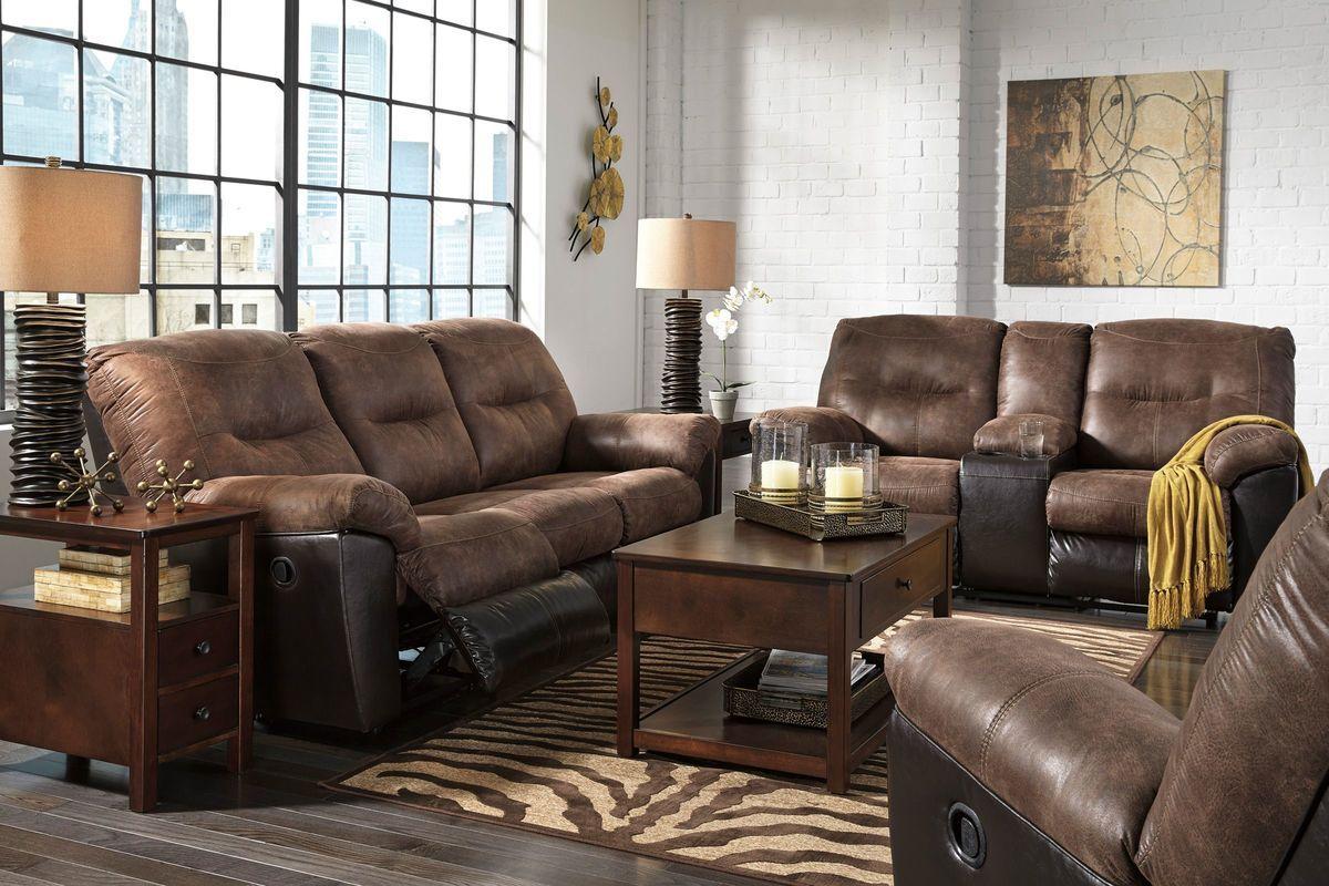 Follett By Ashley From Gardner White Furniture Sofa And Loveseat Set White Furniture Living Room Leather Living Room Set