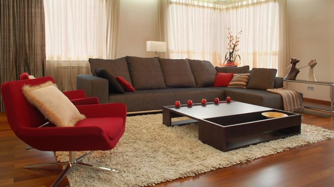 Beautifull Modern Accent Chairs For Living Room Brown Living