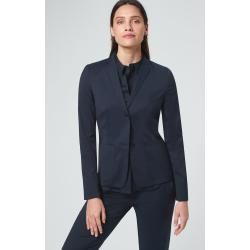 Photo of Baumwollstretch-Blazer in windsor blu scuro