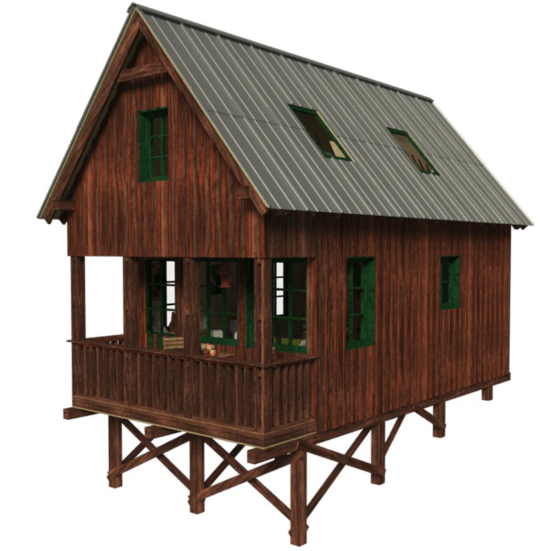 Best Small House Plans With Gable Roof G*Ng*R House Plans 400 x 300