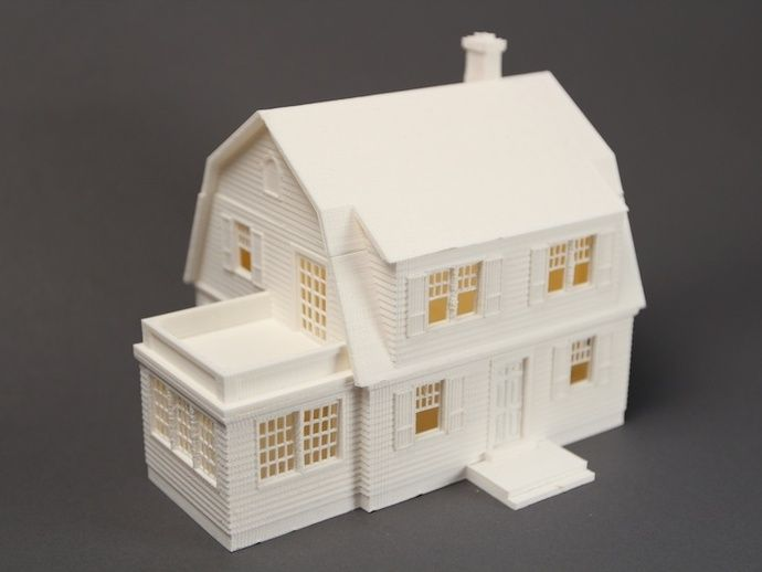 Miniature House 1/64 scale - The Puritan by MakerBot