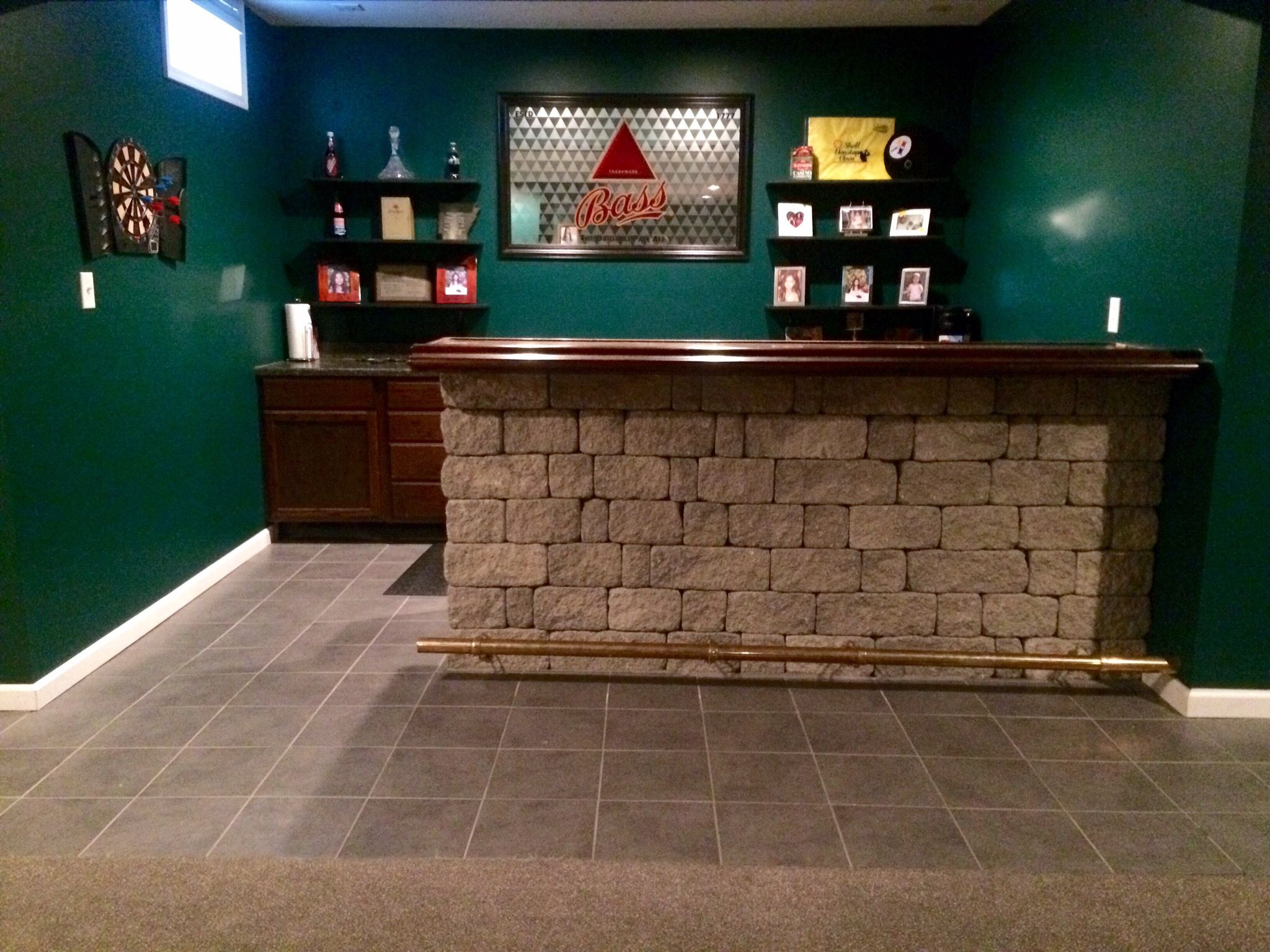 Custom Built Bar for Entertaining