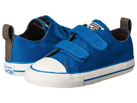 1a954520a411 Converse Kids Chuck Taylor® All Star® 2V Ox (Infant Toddler) Larkspur