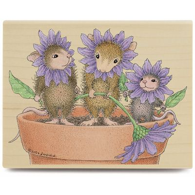 Spring Blossoms (Mar 07) - HMJR1051 - The Official House-Mouse Designs® Web Site