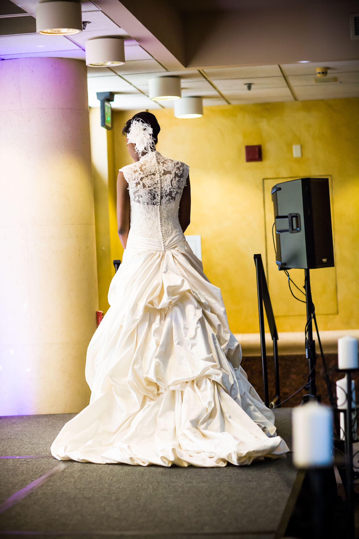 Dress by House of Fashion Bridal Salon