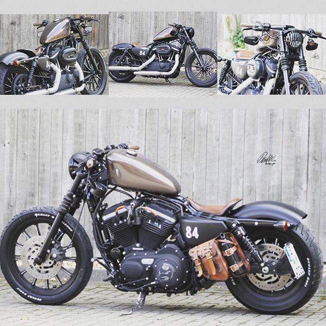 Harley Davidson Sportster Iron 883 Bobber 51720