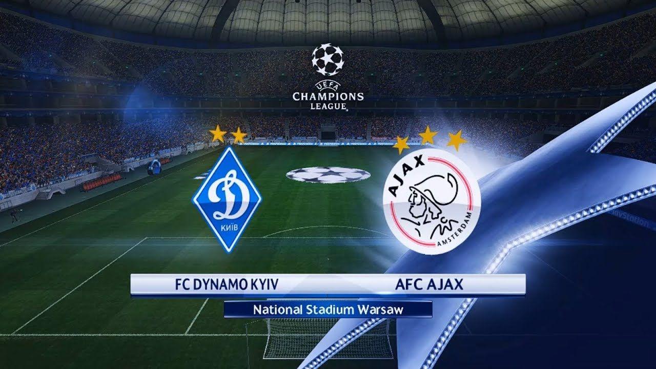 Dynamo Kyiv vs Ajax Amsterdam   UEFA Champions League 2018